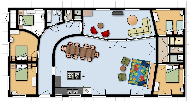 indoor 2D map